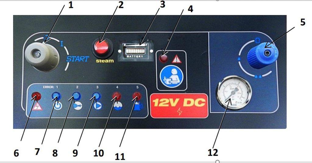 nettoyeur vapeur gasoil 12 volts