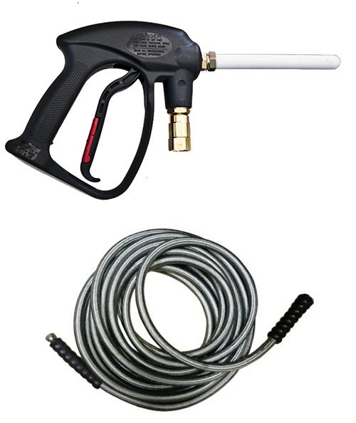Pistolet vapeur + flexible