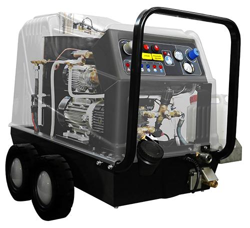 STEAM POWER PLUS DUO - Nettoyage vapeur + Haute Pression Eau